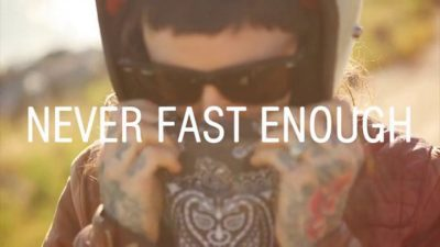 Never Fast Enough by Dylan Ozanich
