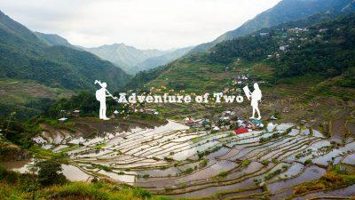 Adventure of Two Batad rice terraces Philippines